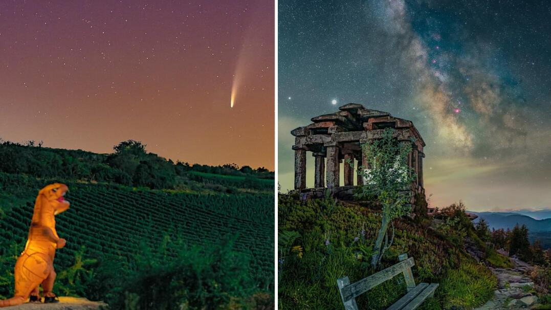 Jeździ po świecie, by fotografować nocne niebo