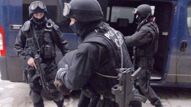 Akcja policjantów (zdjęcie ilustracyjne) CBŚP
