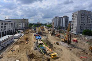 Budują metro, zmiany na Bródnie. Utrudnienia dla pieszych i kierowców
