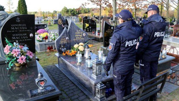 Policjanci wspominali funkcjonariuszy, którzy polegli na służbie