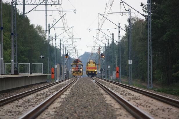 Awaria sieci trakcyjnej (zdjęcie ilustracyjne) PKP