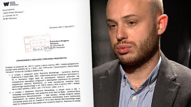 Jan Śpiewak złożył zawiadomienie do prokuratury Archwium TVN, Jan Śpiewak / facebook.com