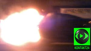 Peugeot zgasł, a potem się zapalił