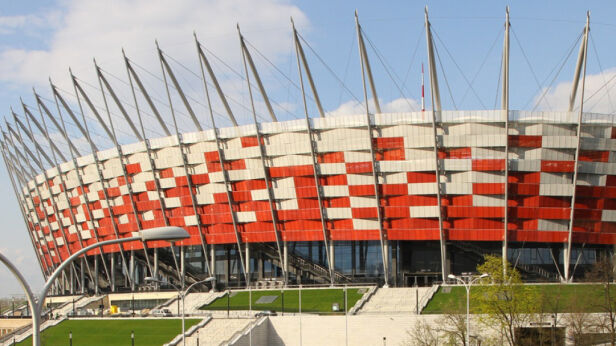 Otworzą otoczenie Stadionu Narodowego Maciej Wężyk /tvnwarszawa.pl