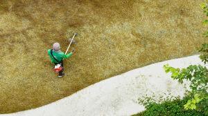 Wciąż koszą suchą trawę. Burmistrz upomina zarządców