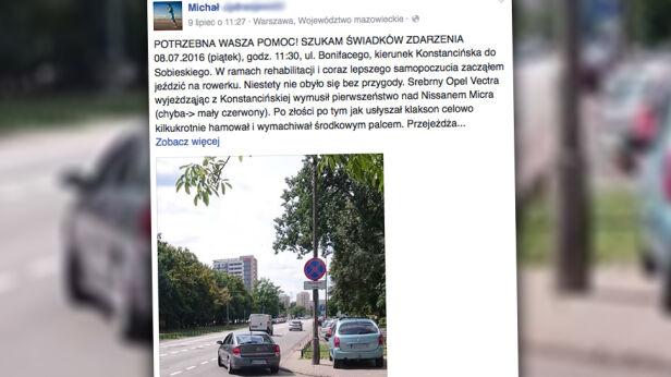 Relacja z wydarzenia na ul. św. Bonifacego facebook / Michał