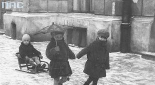 Zima w Polsce dawniej (Narodowe Archiwum Cyfrowe)