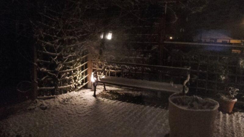 Śnieg w Toszku. Reporter Kontaktu24: Anoli