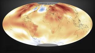 Najgorętsze lądy i oceany, najwyższe stężenie gazów cieplarnianych. 2015 rok w raporcie klimatologów