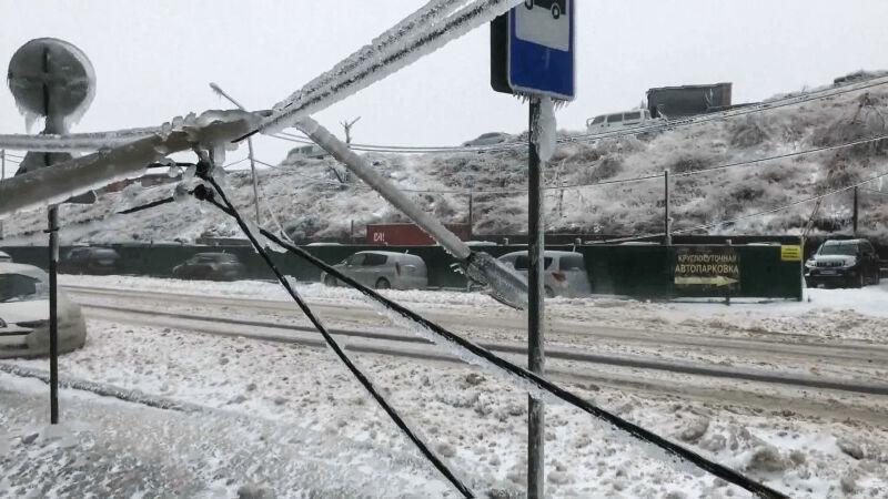 W Kraju Nadmorskim w Rosji wprowadzono stan nadzwyczajny w związku z pogodą (ENEX)