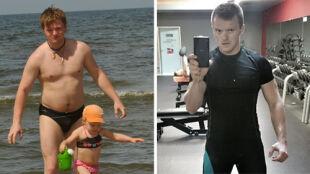 Ujarzmił cukrzycę i schudł ponad 40 kg. Metamorfoza Rafała Nejmana