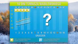 Prognoza na 16 dni: mroźny początek grudnia, a potem chwilowe ocieplenie