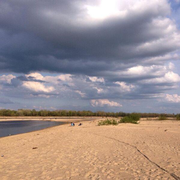 Nadwiślańska plaża